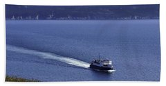 Bell Island Ferry  Bath Towel