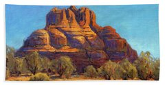 Bell Rock, Sedona Arizona Hand Towel