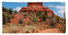Bell Rock - Sedona Hand Towel by Dany Lison