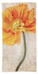 Bella Orange Hand Towel