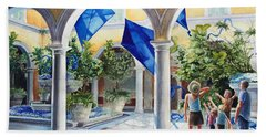 Bellagio Kite Flight Hand Towel