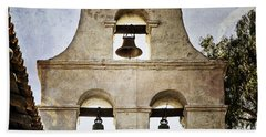 Bells Of Mission San Diego Hand Towel