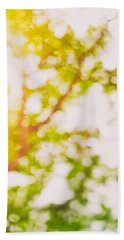 Beneath A Tree  14 5194  Diptych  Set 2 Of 2 Hand Towel