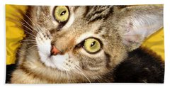 Bengal Cat Kitten Bath Towel