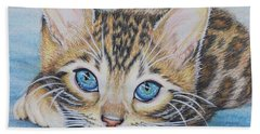 Bengal Kitten Bath Towel