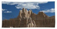 Bentonite Clay Formations Cathedral Bath Towel