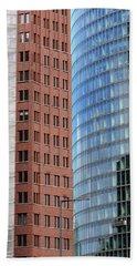 Berlin Buildings Detail Hand Towel