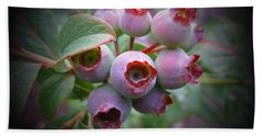 Berry Unripe Hand Towel by MTBobbins Photography