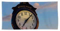 Bethany Beach Clock Bath Towel