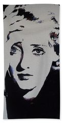 Bette Davis Bath Towel