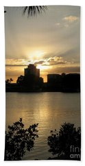 Between Day And Night Hand Towel by Christiane Schulze Art And Photography