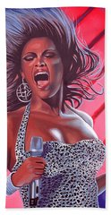 Beyonce Hand Towel by Paul Meijering