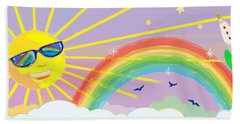 Beyond The Rainbow Hand Towel