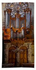 Beziers Pipe Organ Bath Towel