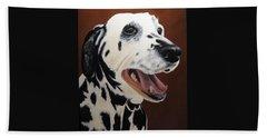 Bianca Rob's Dalmatian Bath Towel