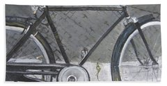 Bicycle In Rome Bath Towel