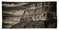 Big Bend Cliffs Hand Towel