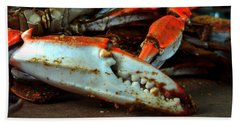 Big Crab Claw Bath Towel
