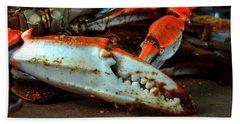 Big Crab Claw Bath Towel
