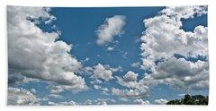 Big Sky Hand Towel by Cheryl Baxter