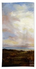 Big Sky Country Bath Towel by Lee Piper