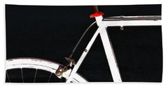 Bike In Black White And Red No 1 Hand Towel