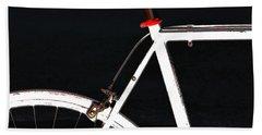 Bike In Black White And Red No 1 Bath Towel