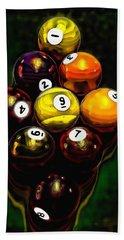 Billiards Art - Your Break 6 Bath Towel by Lesa Fine
