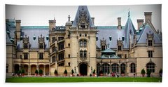 Hand Towel featuring the photograph Biltmore Estate by Patti Whitten