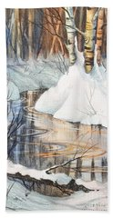 Birch Trio II Hand Towel