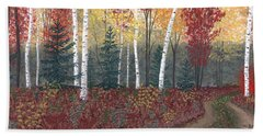 Birches Bath Towel