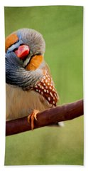 Bird Art - Change Your Opinions Hand Towel
