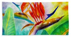 Bird Of Paradise Hand Towel