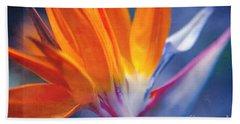 Bird Of Paradise - Strelitzia Reginae - Crane Flower Maui Hawaii Bath Towel