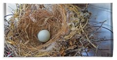 Birds Nest - Perfect Home Hand Towel by Ella Kaye Dickey