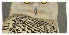 Birds Of A Feather Bath Towel by Darren Robinson