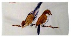 Birds Of A Feather Bath Towel