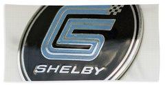 Birthday Car - Shelby Logo Bath Towel