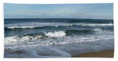 Bath Towel featuring the photograph Winter Beach  by Eunice Miller