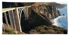 Bixby Bridge Afternoon Bath Towel