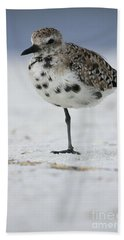Black-bellied Plover Bath Towel