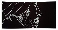 Black Book Series 03 Bath Towel by Rand Swift