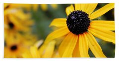 Black Eyed Susan Hand Towel by Melissa Petrey