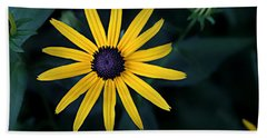 Black-eyed Susan Bath Towel by William Tanneberger