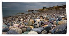 Black Rock Beach Bath Towel