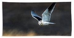 Black-shouldered Kite Elanus Axillaris Hand Towel