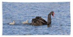 Black Swans Hand Towel