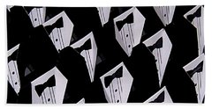 Black Tie Affair Hand Towel
