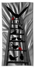 Blackbird Ladder Hand Towel