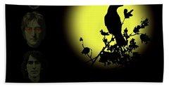 Blackbird Singing In The Dead Of Night Hand Towel